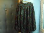 Vunena plisirana suknja