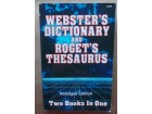 WEBSTER S DICTIONARY and ROGET S THESAURUS