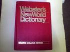WEBSTER,s NEW WORLD DICTIONARI sec.col.ed.-86g.
