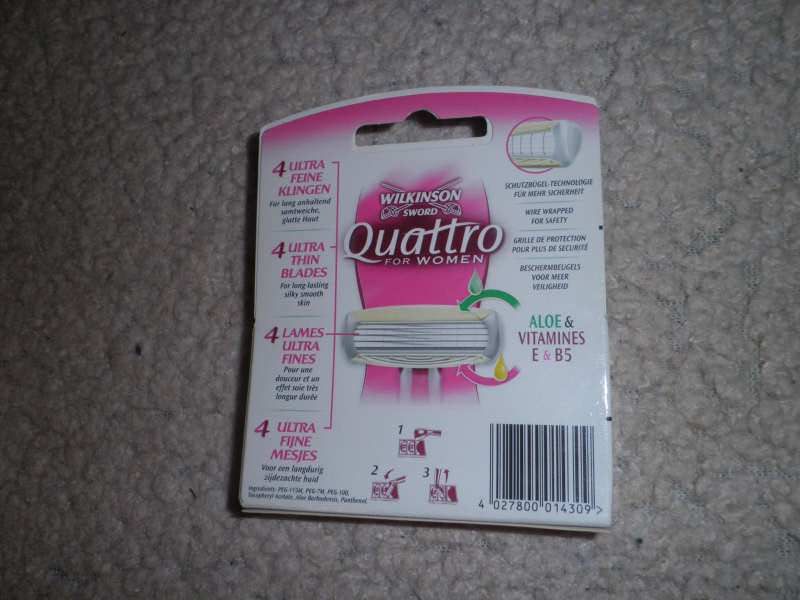 WILKINSON-Quattro for women