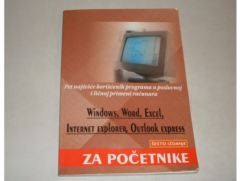WINDOWS , WORD , EXCEL za pocetnike
