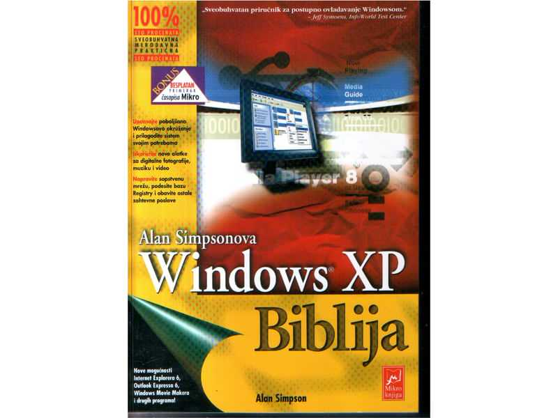 WINDOWS XP BIBLIJA Alan Simpson