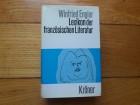 WINFRIED ENGLER - LEXIKON DER FRANZOSISCHEN LITERATUR