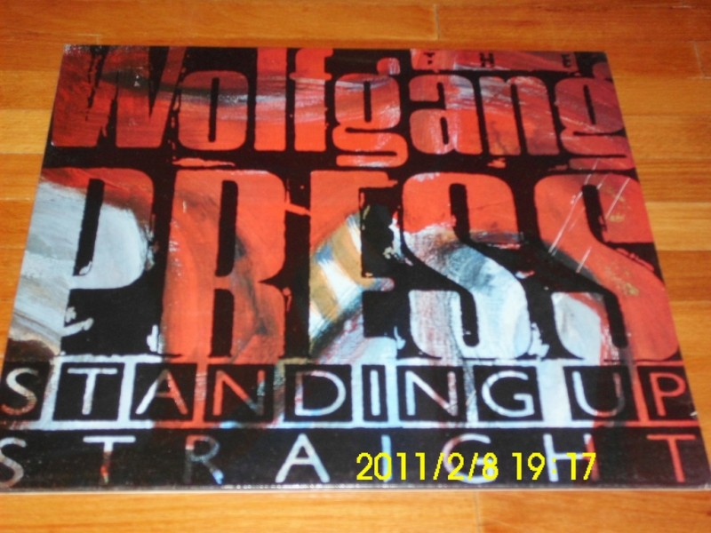 WOLFGANG PRESS - Standing Up Straight