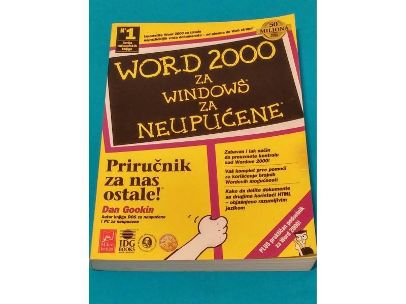 WORD 2000 ZA NEUPUĆENE - Den Gukin
