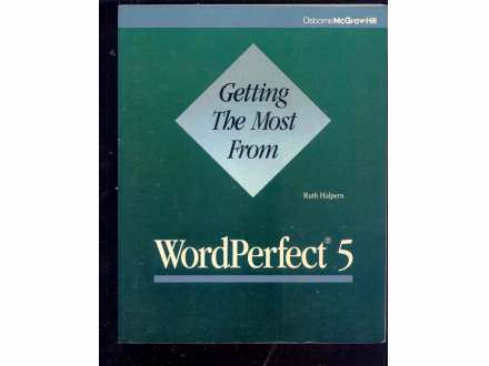 WORD PERFECT 5 - (NA ENGLESKOM)