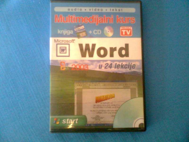 WORD U 24 LEKCIJE SA CD