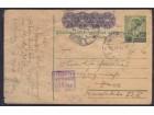 WWII Nemačka okupacija 1942 cenzurisana dopisnica