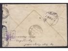 WWII Nemačka okupacija 1942 cenzurisano pismo