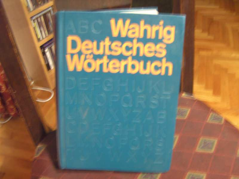Wahring Deutsches Worterbuch