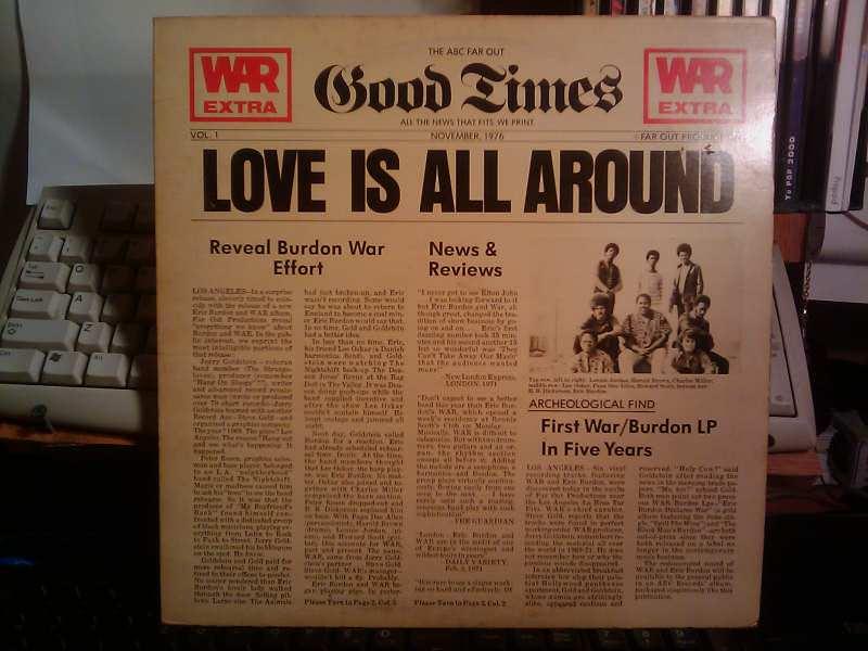 War - Love Is All Around