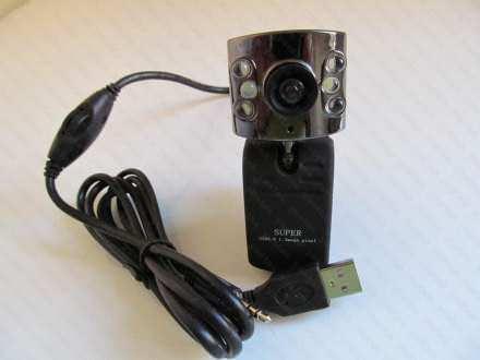 Web kamera  sa mikrofonom i LED osvetljenjem