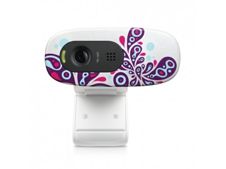 Webcam Logitech C270 HD white