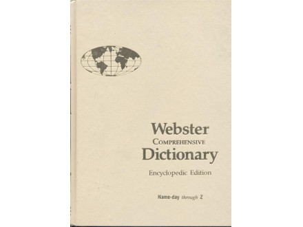 Webster Comprehensive Dictionary (u 2 knjige)