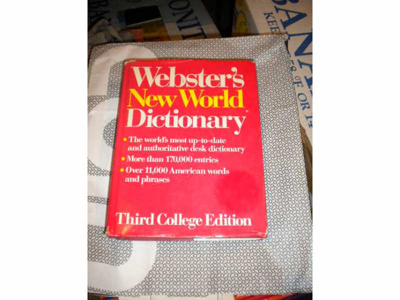 Webster`s New World Dictionary