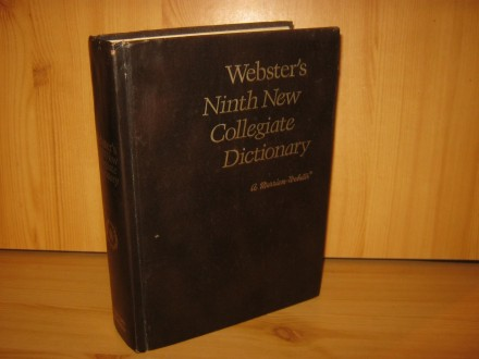 Webster`s Ninth New Collegiate Dictionary