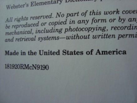 Websters Engleski recnik