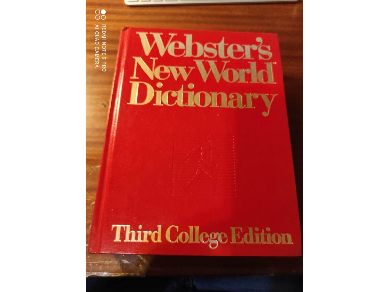 Websters New World Dictionary Third College Edition