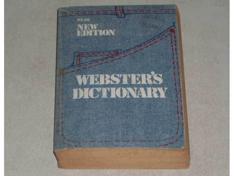 Websters dictionary