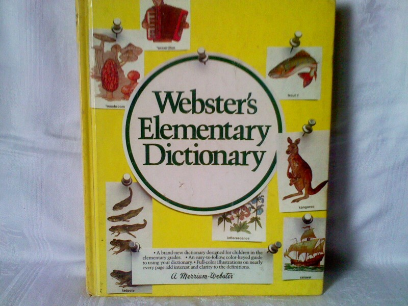 Websters elementary dictionary