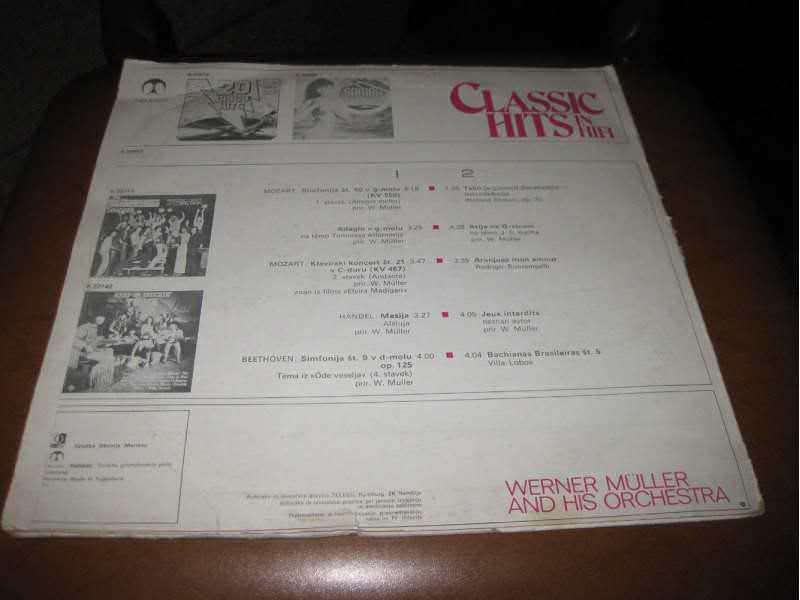 Werner Müller & His Orchestra - Classic Hits