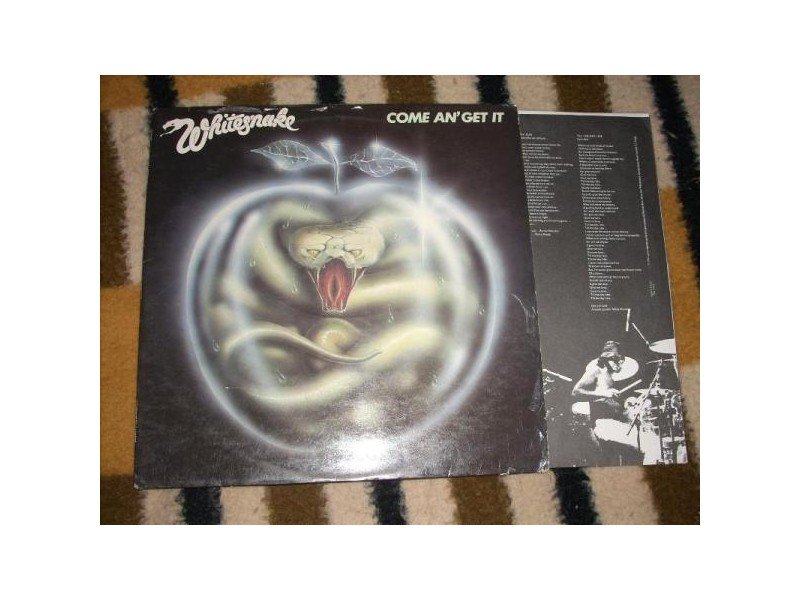 Whitesnake-Come An` Get It LP Underdog France