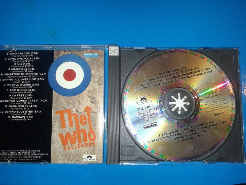 Who, The - The Who Collection - Volume Two