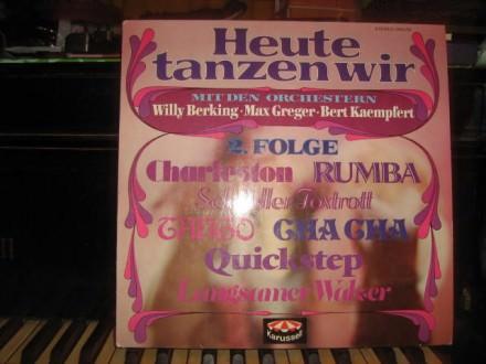 Willy Berking, Max Greger Und Sein Orchester, Bert Kaempfert - Heute Tanzen Wir, 2. Folge