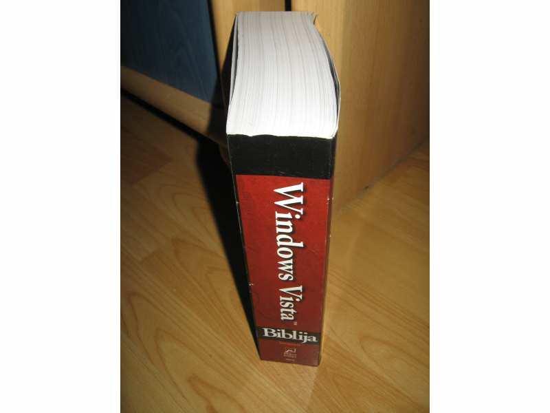 Windovs Vista Biblija,knjiga koja vas vodi do uspeha