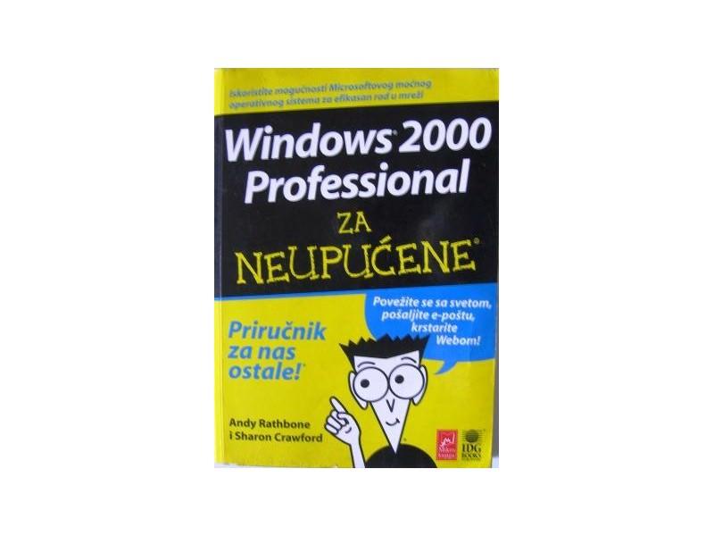 Windows 2000 Profesional za neupućene -Priručnik za nas