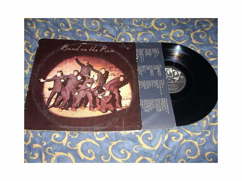 Wings - Band On The Run LP EMI Italy