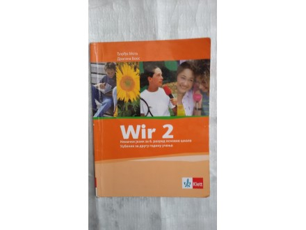 Wir 2,nemacki jezik za 6.razred osnovne skole