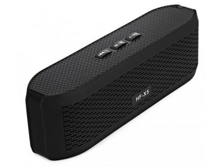 Wireless LED Zvucnik HF-X5 - Crni
