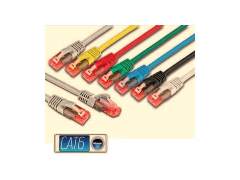 Wirewin UTP, CAT6e Patch, 100% copper, LSZH, gray, 10.0m