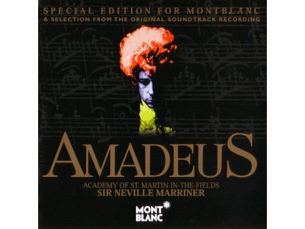 Wolfgang Amadeus Mozart, Academy Of St. Martin-in-the-Fields, The, Sir Neville Marriner - Amadeus (Special Edition For Montblanc)