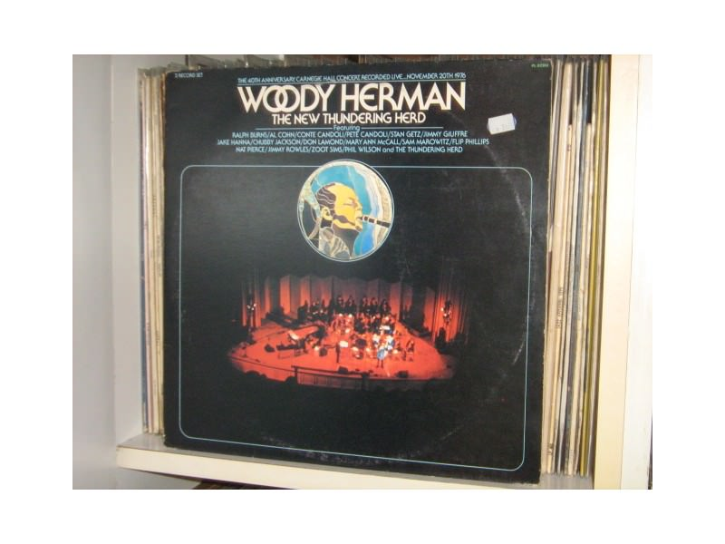 Woody Herman-The 40th Anniversary,Carnegie Hall Concert