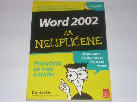 Word 2002- Dan Gookin