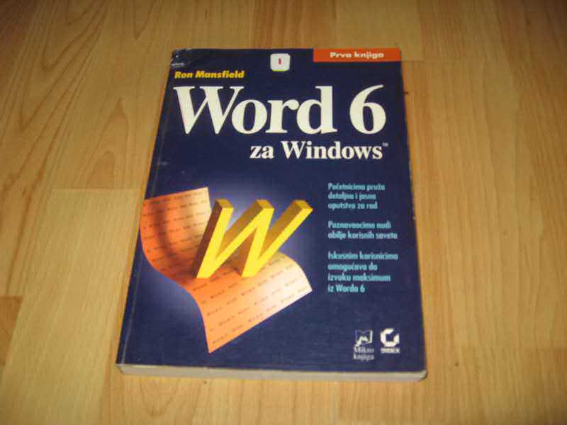 Word 6 za Windows I
