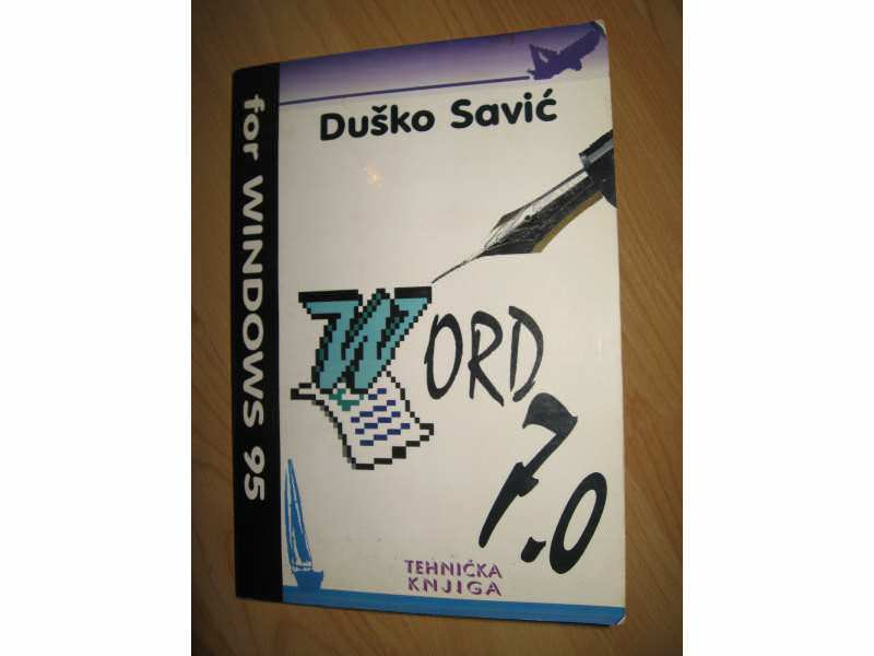 Word 7.0 for windows 1995