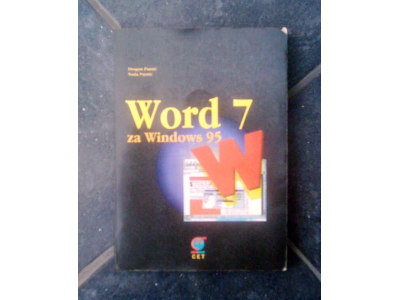 Word 7 za Windows 95