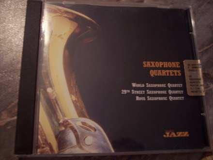 World Saxophone Quartet, 29th Street Saxophone Quartet, Rova Saxophone Quartet - Saxophone Quartets