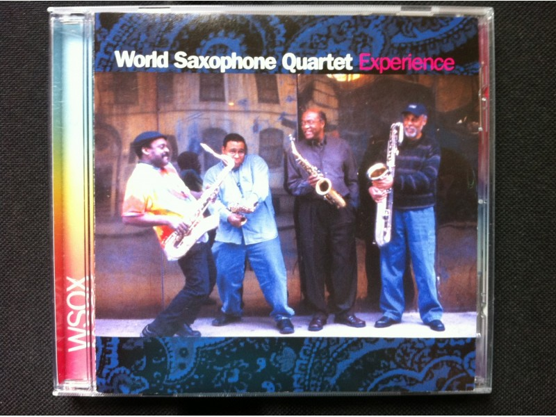 World Saxophone Quartet - EXPERIENCE    2004