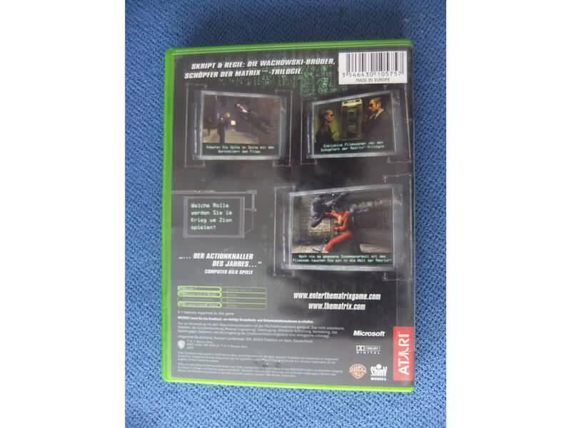 Xbox igra Enter the Matrix ORIGINAL
