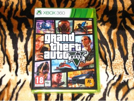 Xbox360 Igra GTA 5 Grand Theft Auto V