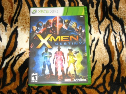 Xbox360 Igra X-Men Destiny OEM