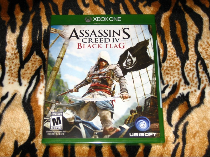 XboxOne Igra Assassins Creed Black Flag USA RF