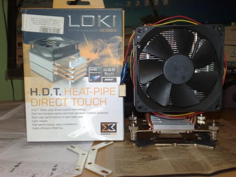 Xigmatek Loki sd963 2x9cm hladnjak procesora