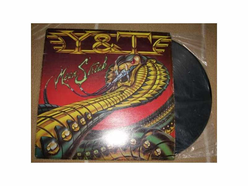 Y & T - Mean Streak LP
