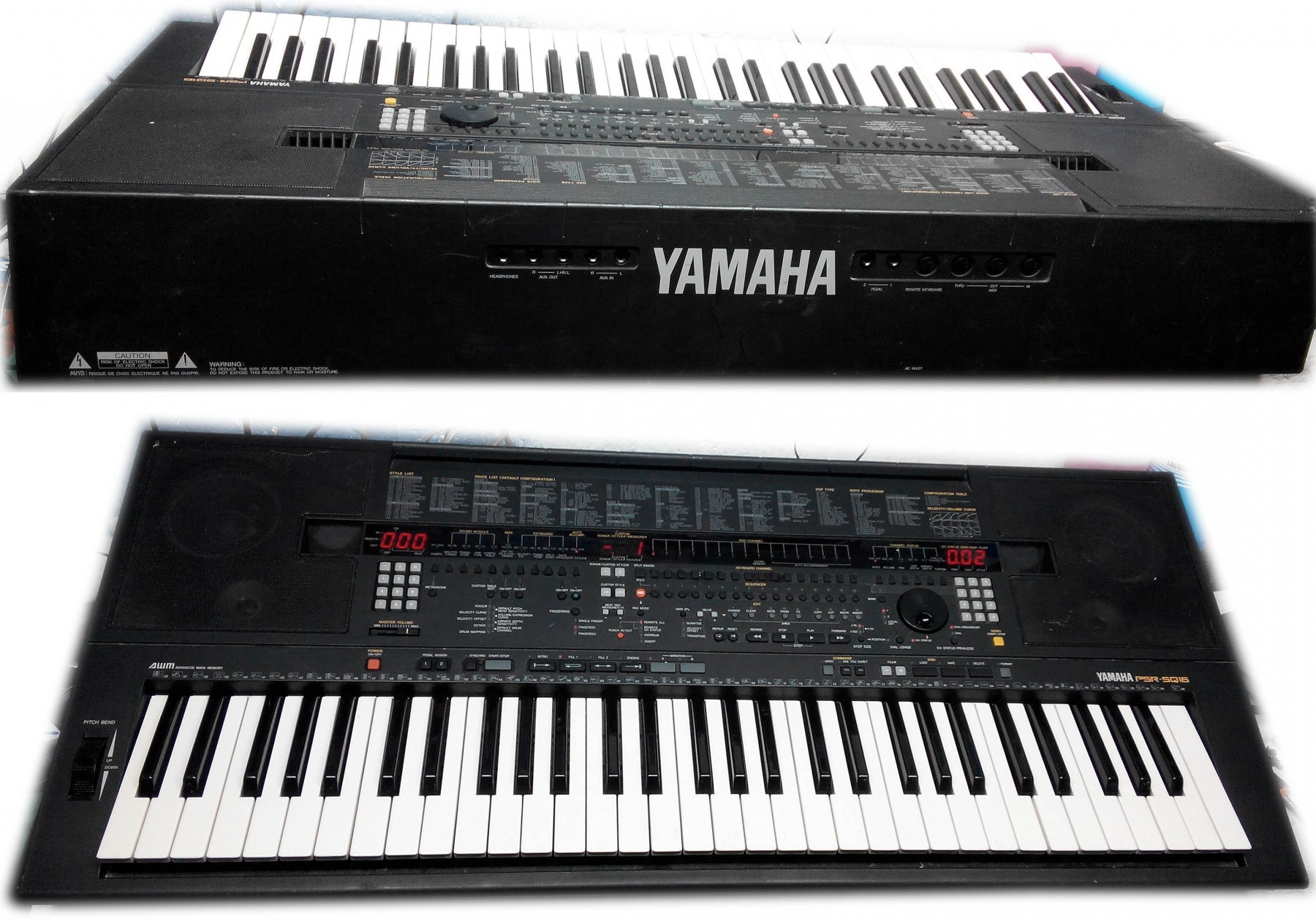 Psr Yamaha Pre O