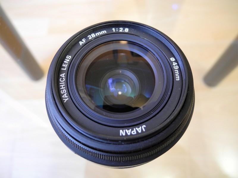 YASHICA AF 28mm 1:2.8 Objektiv